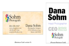 Yout Picture Day-Business Card